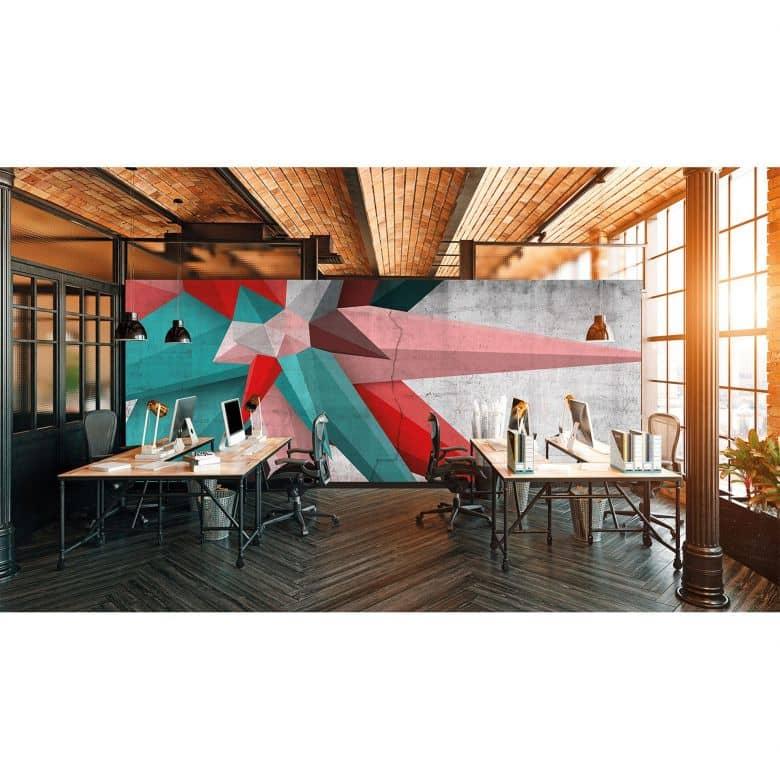 Architects Paper Fototapete Atelier 47 Used Star in 3D Optik