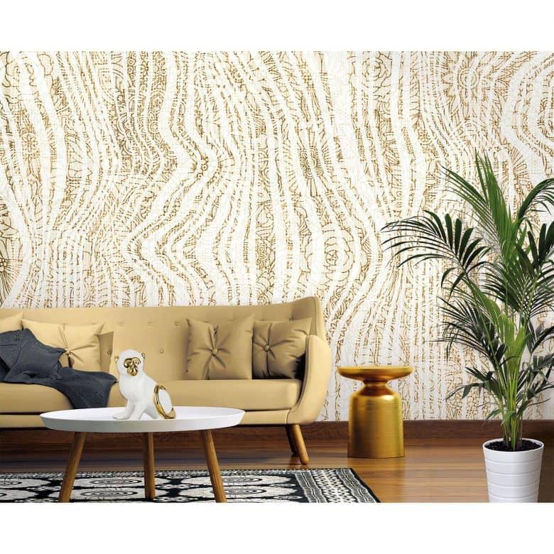 Architects Paper Fototapete Atelier 47 Textile Ornament in 3D Optik