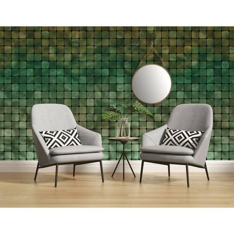 Architects Paper Fototapete Atelier 47 Mosaic Tile grafisch