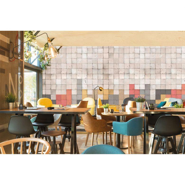 Architects Paper Fototapete Atelier 47 Mosaic Tetris grafisch