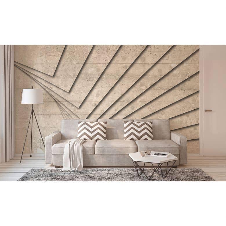 Architects Paper Fototapete Atelier 47 Concrete Art in Betonoptik