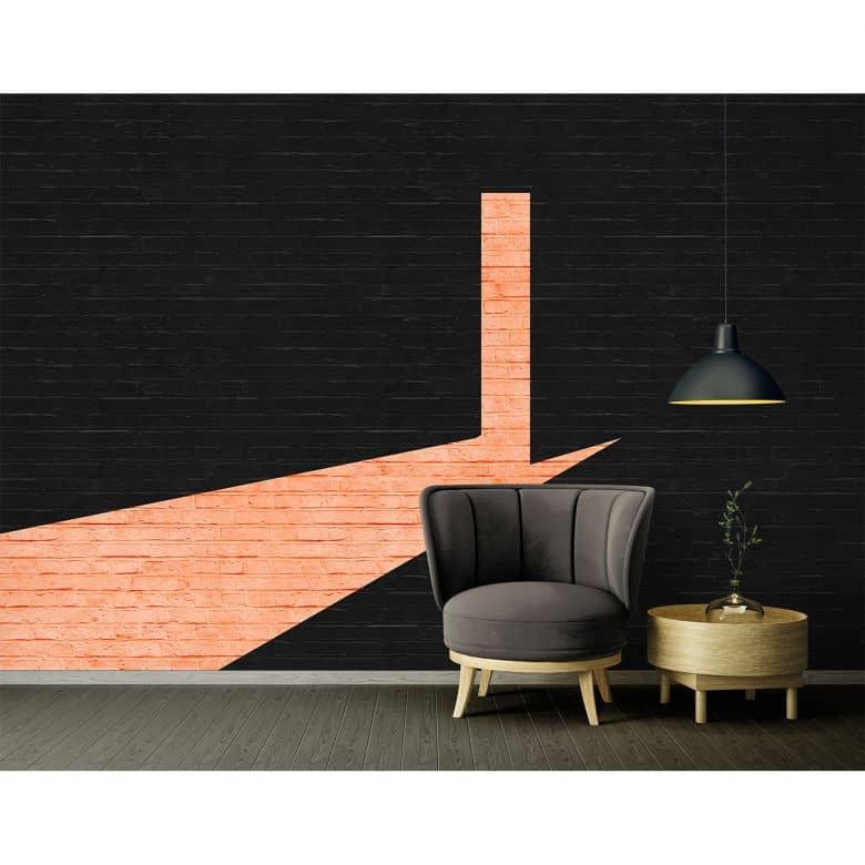 Architects Paper Fototapete Atelier 47 Duo Colour Brick in Steinoptik