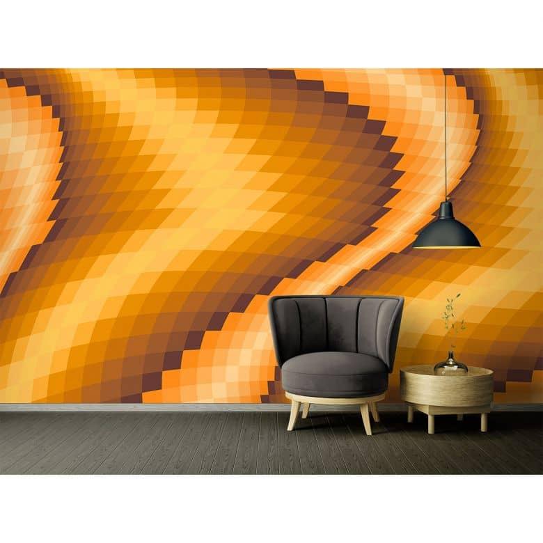 Architects Paper Fototapete Atelier 47 Pattern in 3D Optik