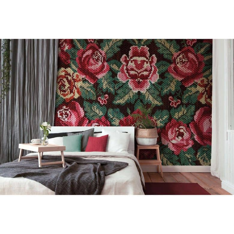 Architects Paper Fototapete Atelier 47 Folklore Blumen