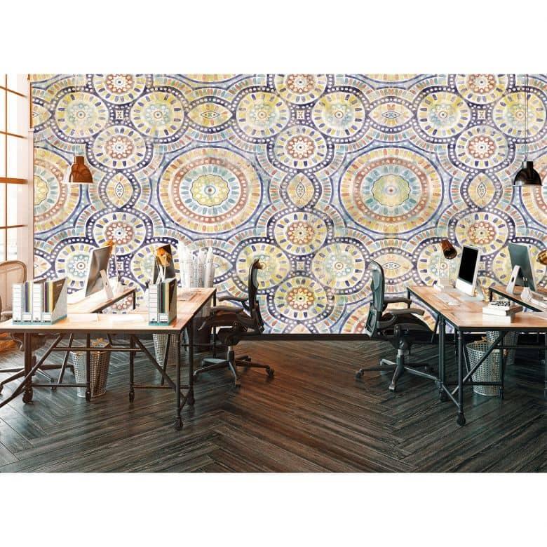 Architects Paper Fototapete Atelier 47 Watercolour Ornament orientalisch