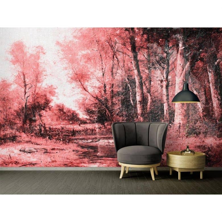 Architects Paper Fototapete Atelier 47 Forest Painting Gemälde