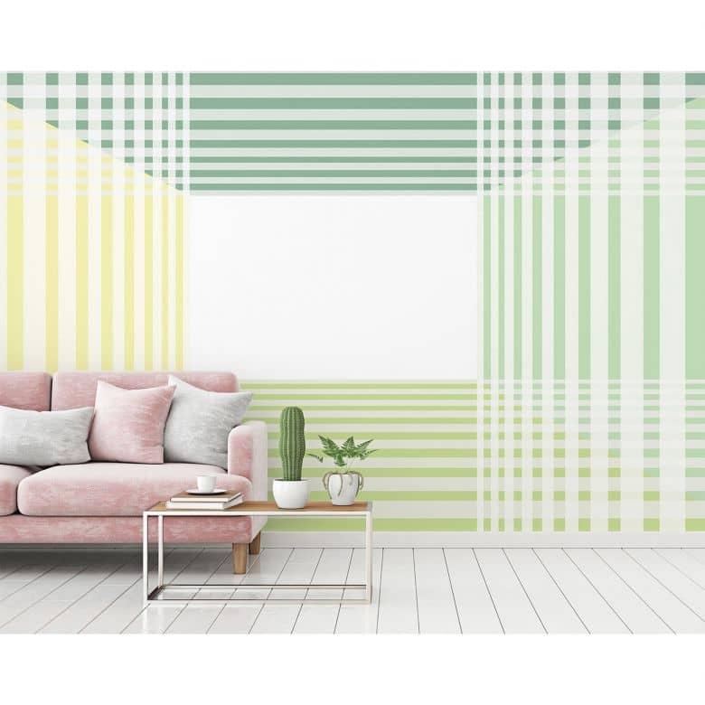 Architects Paper Fototapete Atelier 47 Room Pattern in 3D Optik