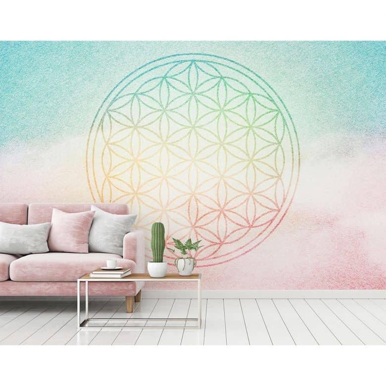 Architects Paper Fototapete Atelier 47 Flower of Life orientalisch