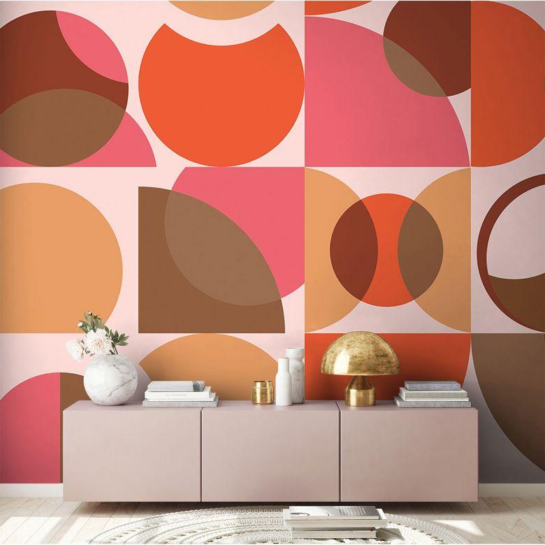 Architects Paper Fototapete Atelier 47 Circles Artwork grafisch