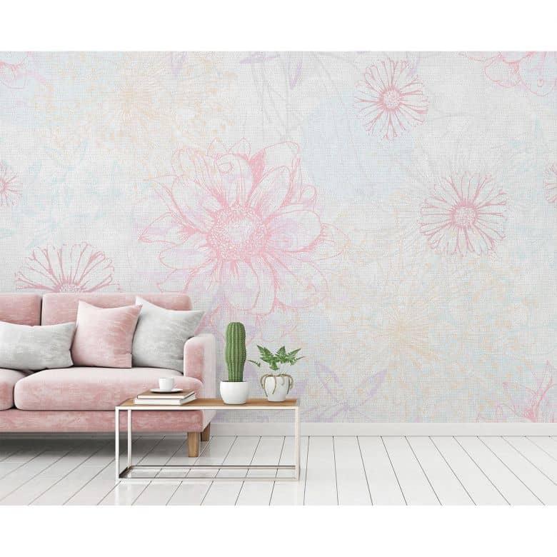 Architects Paper Fototapete Atelier 47 Flower Artwork Blumen
