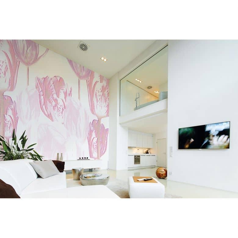 Architects Paper Fototapete Atelier 47 Tulip Artwork Blumen