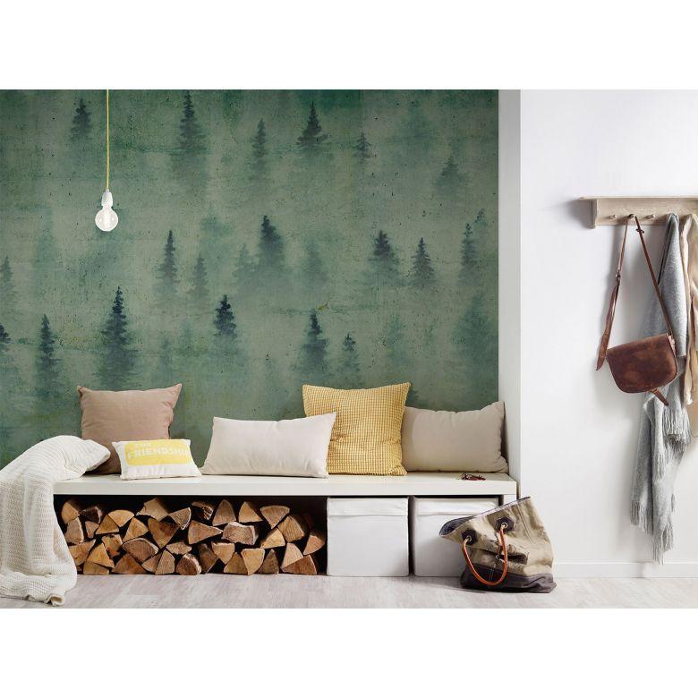Architects Paper Fototapete Atelier 47 Coniferous Artwork Wald