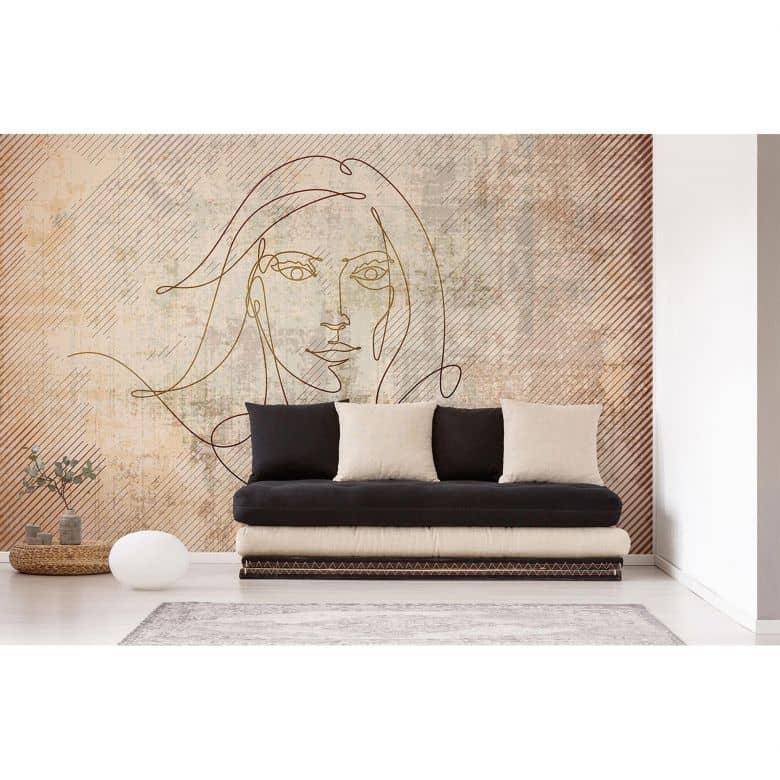 Architects Paper Fototapete Atelier 47 Golden Line Gemälde