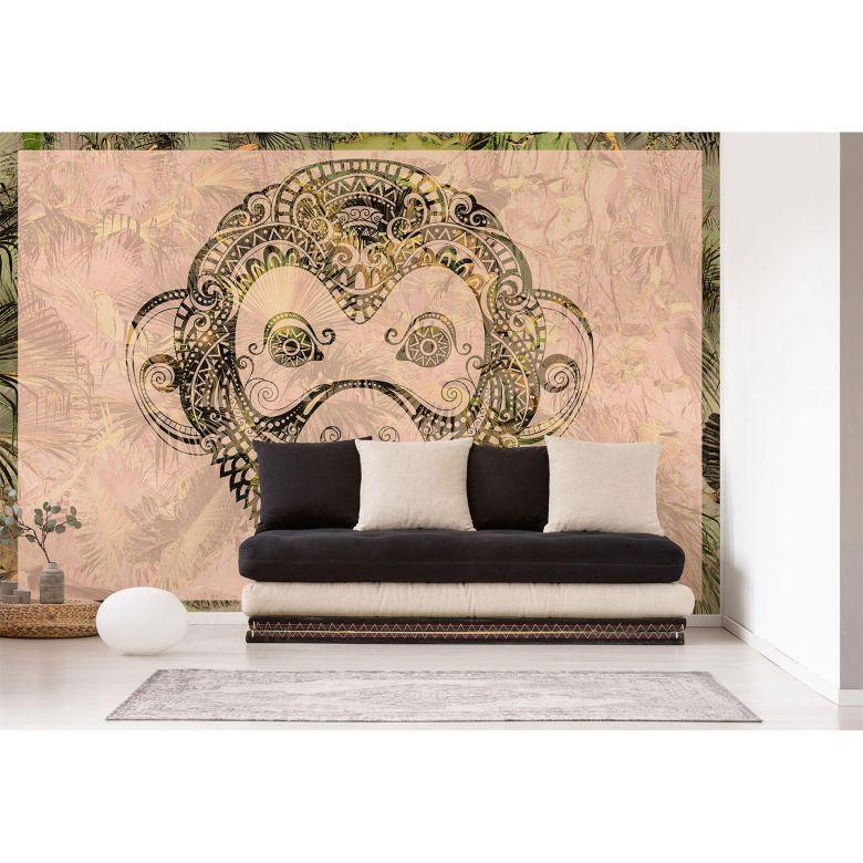Architects Paper Fototapete Atelier 47 Monkey Pattern Tiere