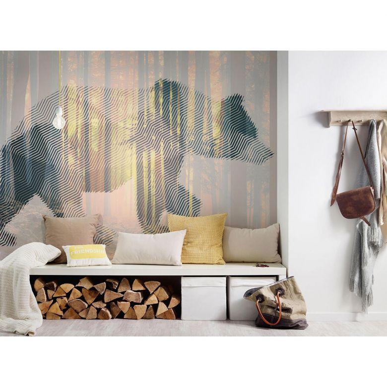 Architects Paper Fototapete Atelier 47 Bear Forest Tiere