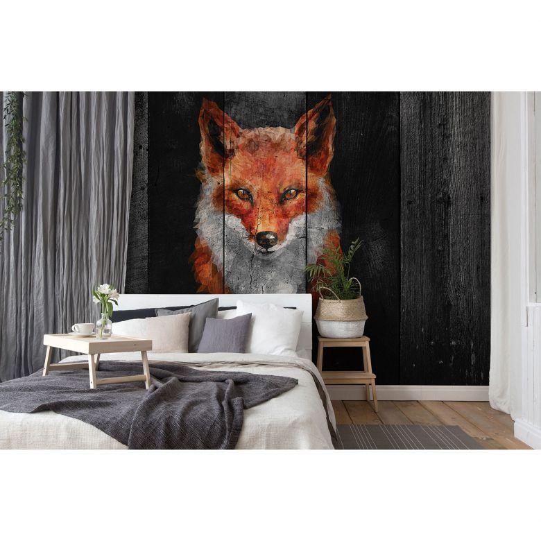 Architects Paper Fototapete Atelier 47 Polygon Fox Tiere