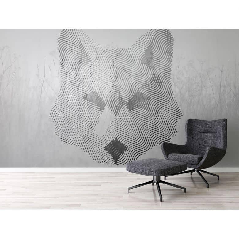 Architects Paper Fototapete Atelier 47 Fox Graphic Tiere