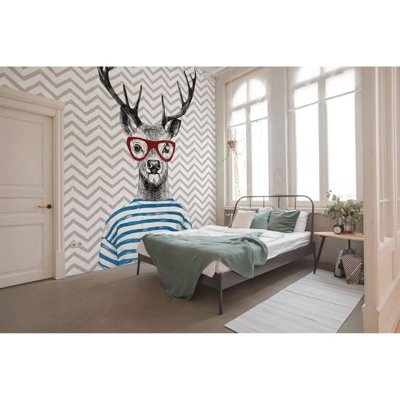 Architects Paper Fototapete Atelier 47 Modern Deer Tiere