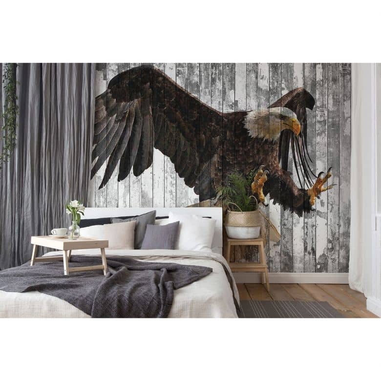 Architects Paper Fototapete Atelier 47 Polygon Eagle Tiere