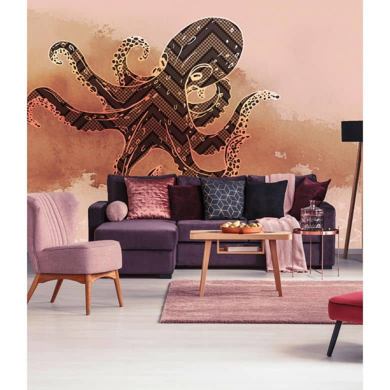 Architects Paper Fototapete Atelier 47 Octopus Design Tiere