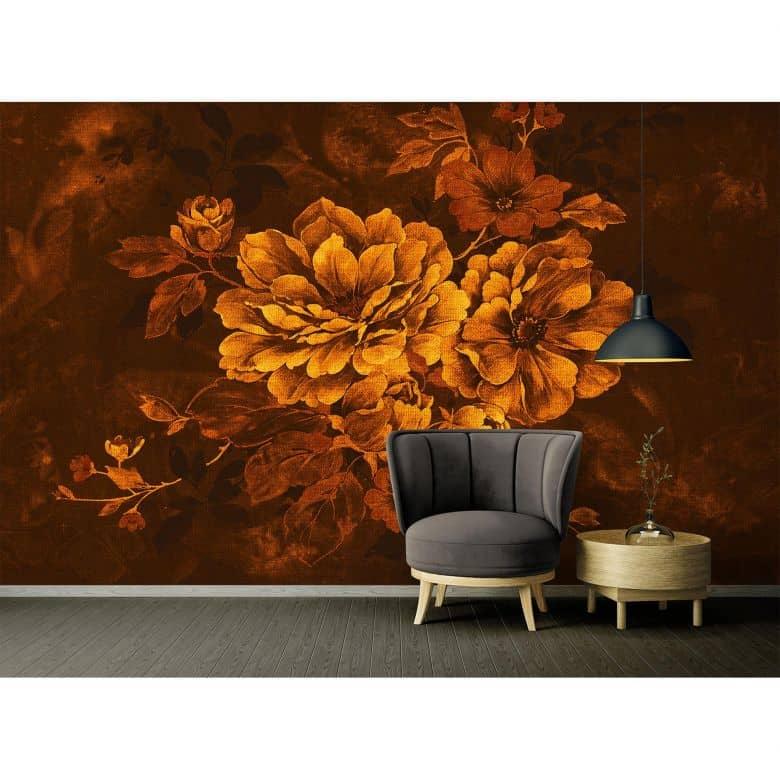 Architects Paper Fototapete Atelier 47 Flowers Artwork Blumen