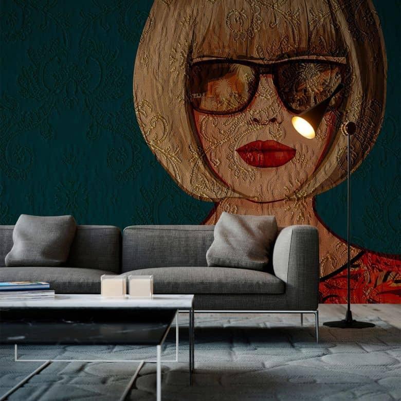 Architects Paper Fototapete Atelier 47 Lady Ornament Menschen