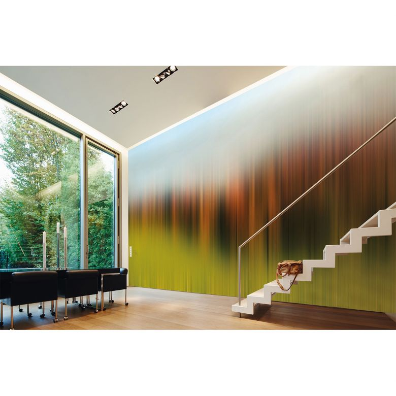Architects Paper Fototapete Atelier 47 Diffused Tree Row Landschaft