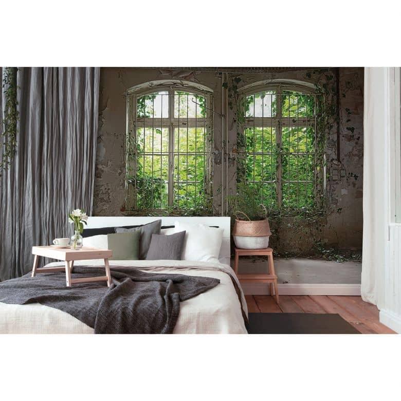 Livingwalls Fototapete Designwalls Old Window Fenster