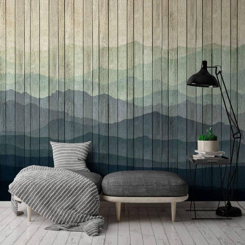 Livingwalls Photo Wallpaper Walls by Patel 2 mountains 1