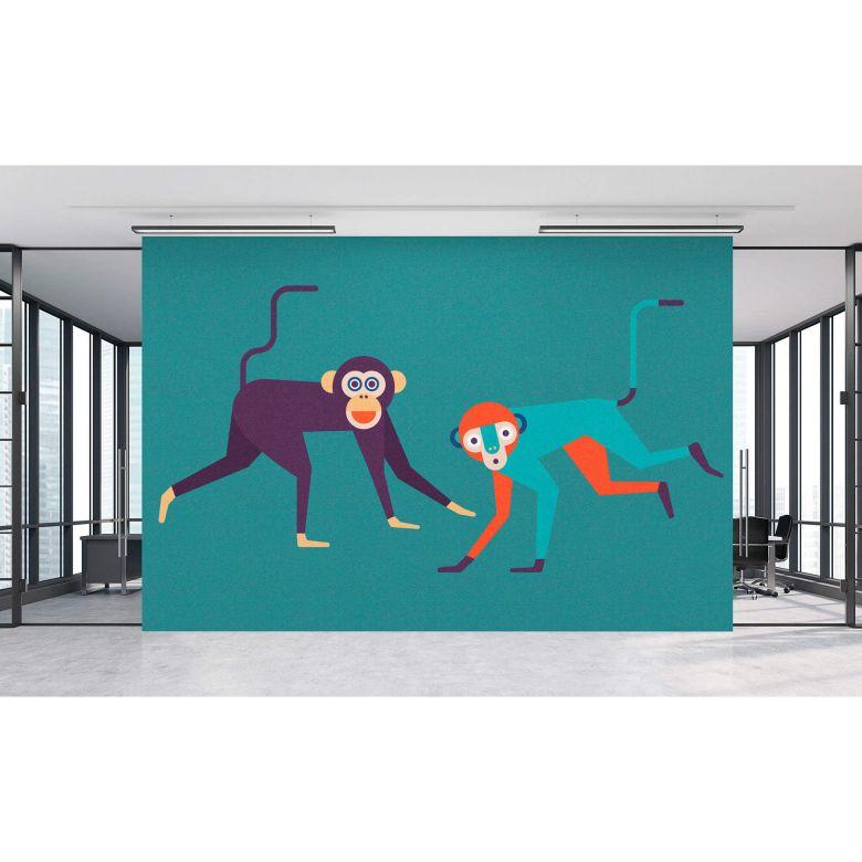 Livingwalls Fototapete Walls by Patel 2 monkey business 1