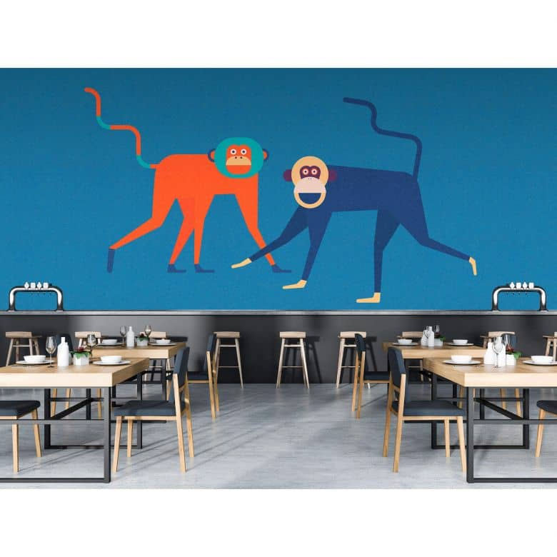 Livingwalls Fototapete Walls by Patel 2 monkey business 2