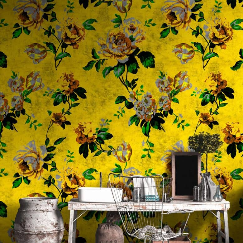 Livingwalls Fototapete Walls by Patel 2 wild roses 5