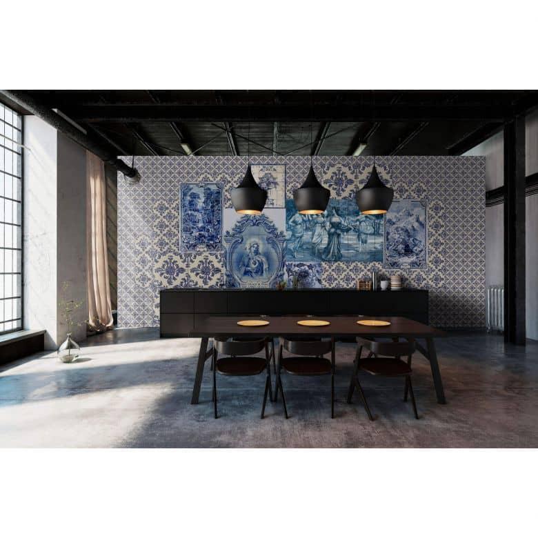 Livingwalls Fototapete Walls by Patel 2 azulejos 1