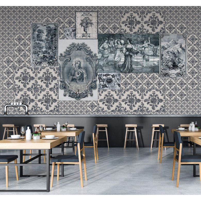 Livingwalls Fototapete Walls by Patel 2 azulejos 3