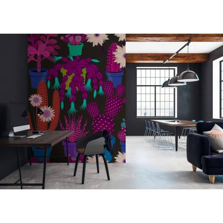 Livingwalls Fototapete Walls by Patel 2 cactus garden 1