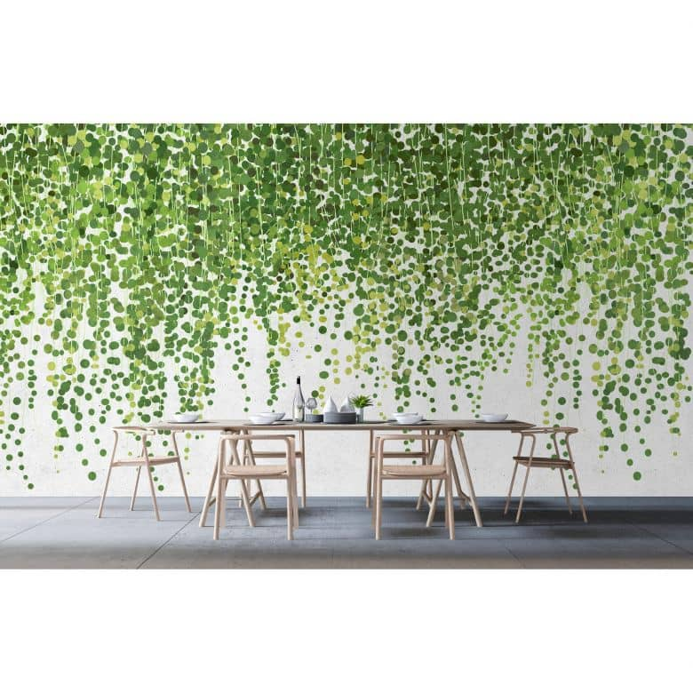 Livingwalls Photo Wallpaper Walls by Patel 2 hanging garden 1