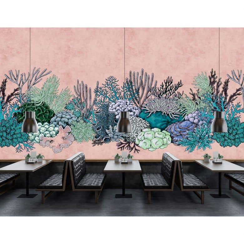 Livingwalls Fototapete Walls by Patel 2 octopus´s garden 2