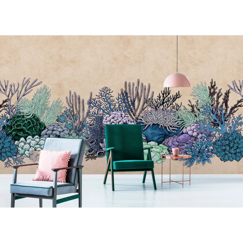 Livingwalls Fototapete Walls by Patel 2 octopus´s garden 3