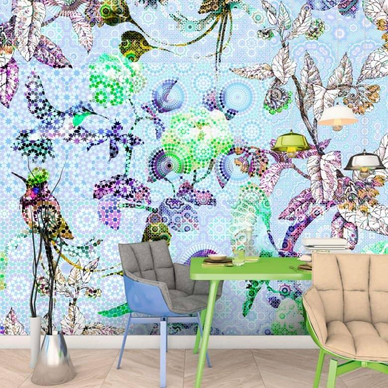 Livingwalls Fototapete Walls by Patel exotic mosaic 2