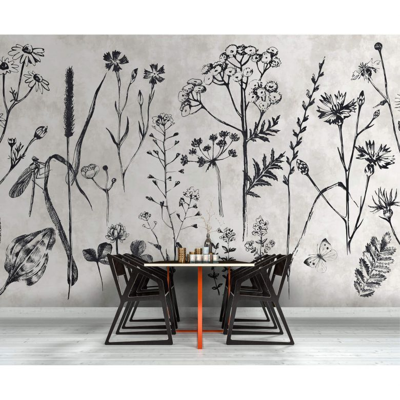 Livingwalls papier peint photo Walls by Patel sketchpad 1