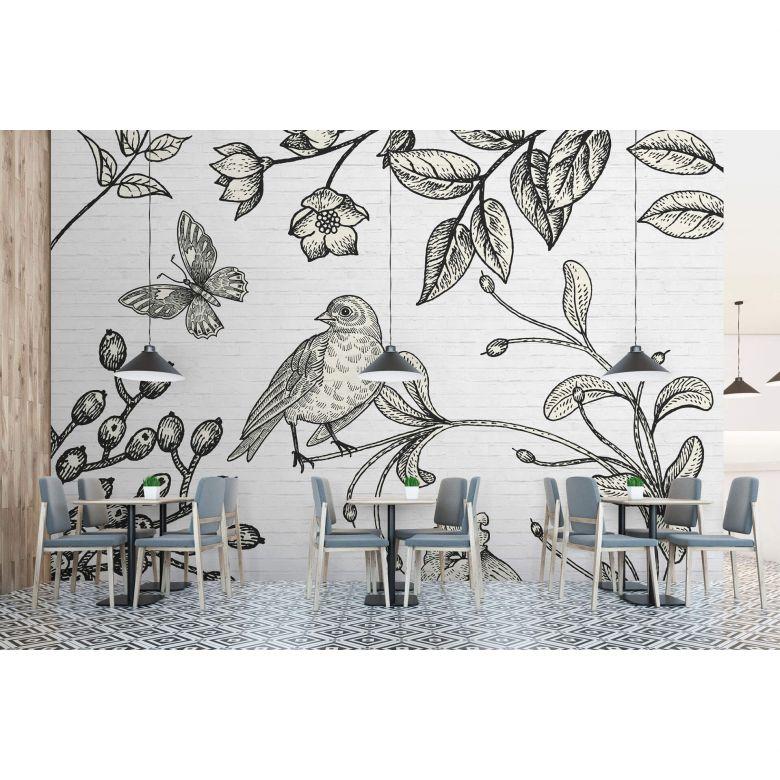 Livingwalls Fototapete Walls by Patel birdy 2