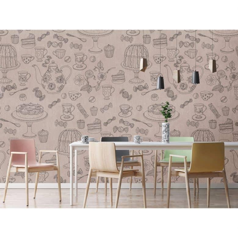Livingwalls Fototapete Walls by Patel coffeetime 1