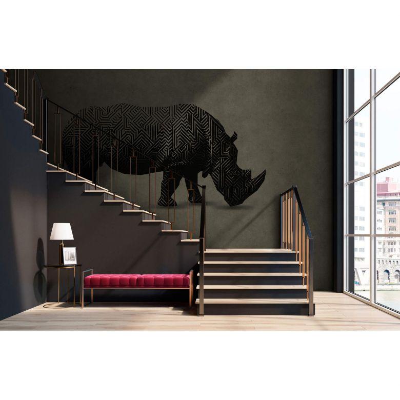Livingwalls papier peint photo Walls by Patel rhino 1
