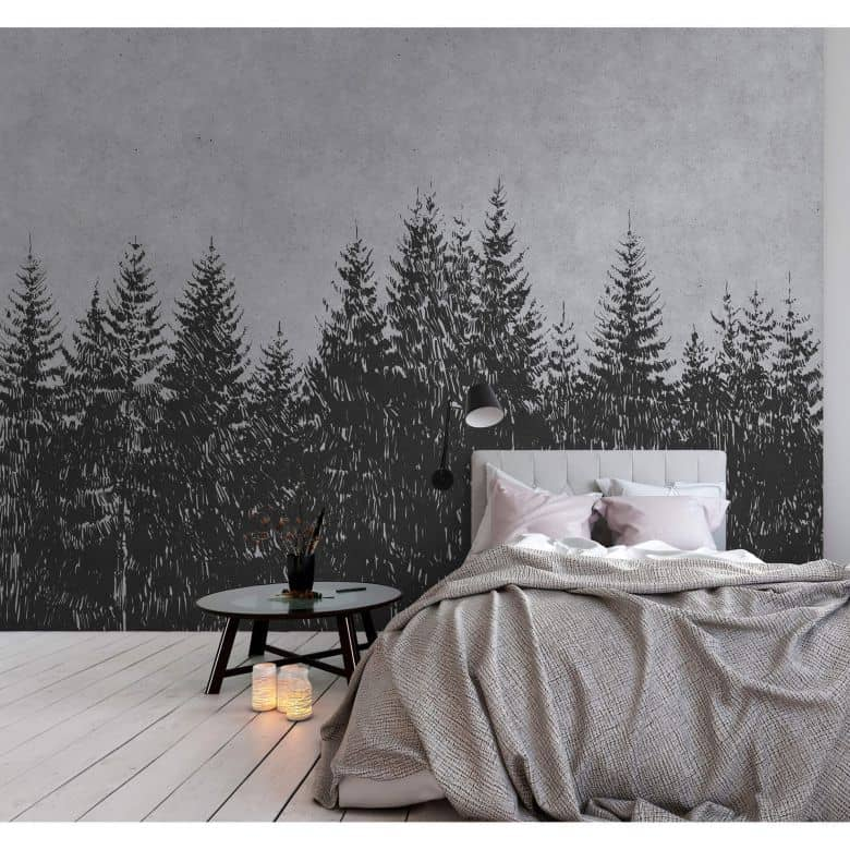 Livingwalls Photo Wallpaper Walls by Patel black forest 3