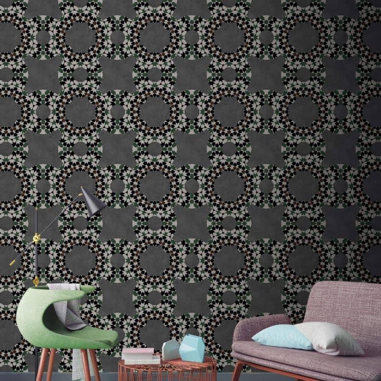 Livingwalls Fototapete Walls by Patel graphite 2