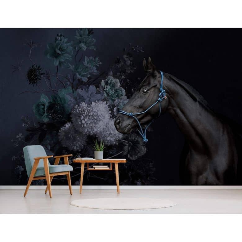 Livingwalls Photo Wallpaper Walls by Patel horses 2