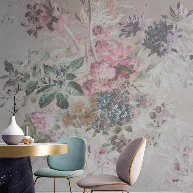 Livingwalls Fototapete Walls by Patel bouquet pastel 1