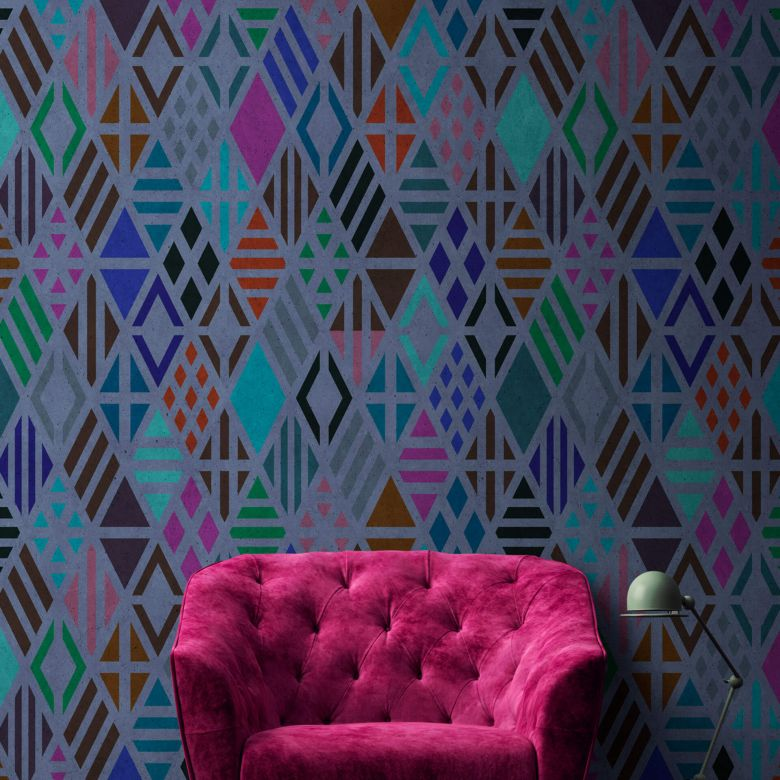 Livingwalls Fototapete Walls by Patel geometrical 2