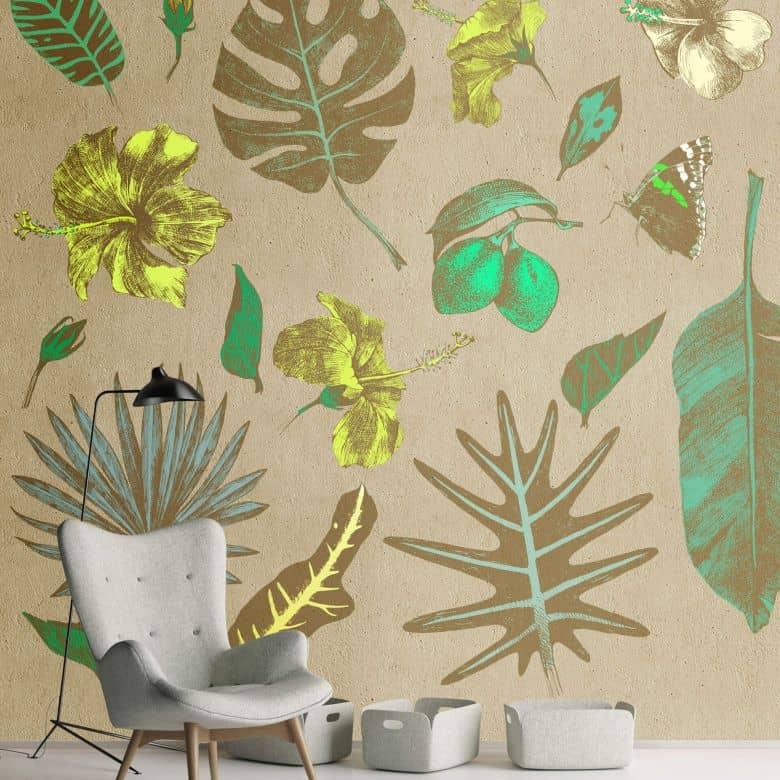 Livingwalls papier peint photo Walls by Patel tropicana 2