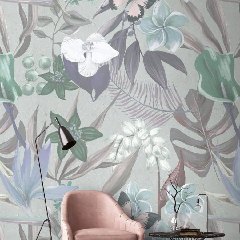 Livingwalls Fototapete Walls by Patel orchid garden 2